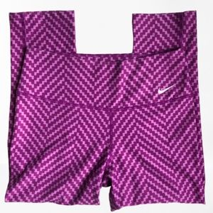Nike DriFIT Workout Legend EUC Leggings Purple XS